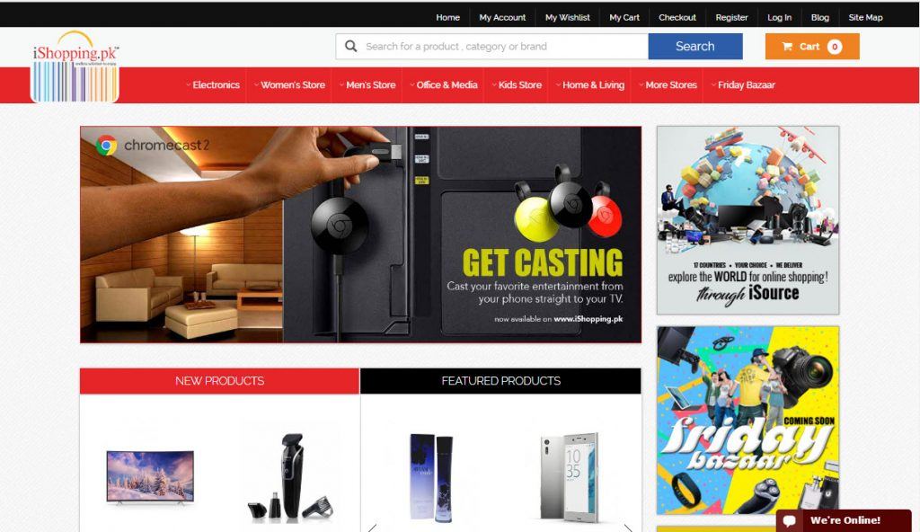 Top 10 most popular online shopping sites in pakistan 2016 for Best websites for shopping