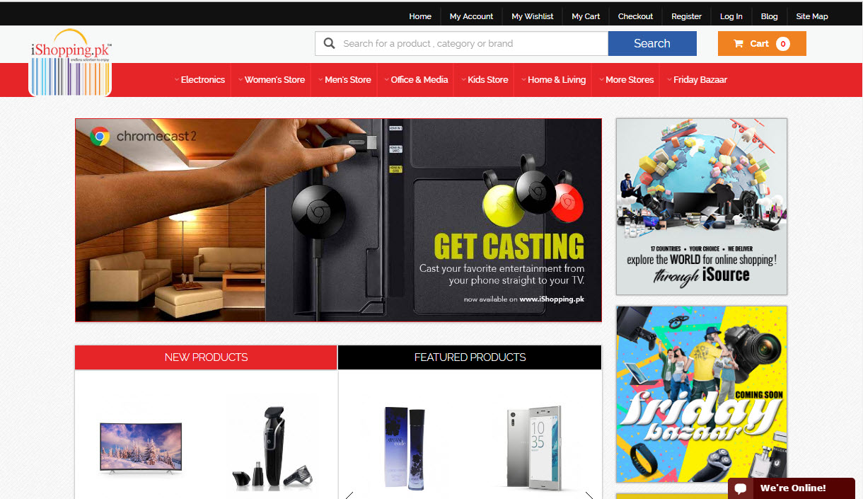 Top 10 trusted online shopping websites in pakistan sight pk for Top ten online stores