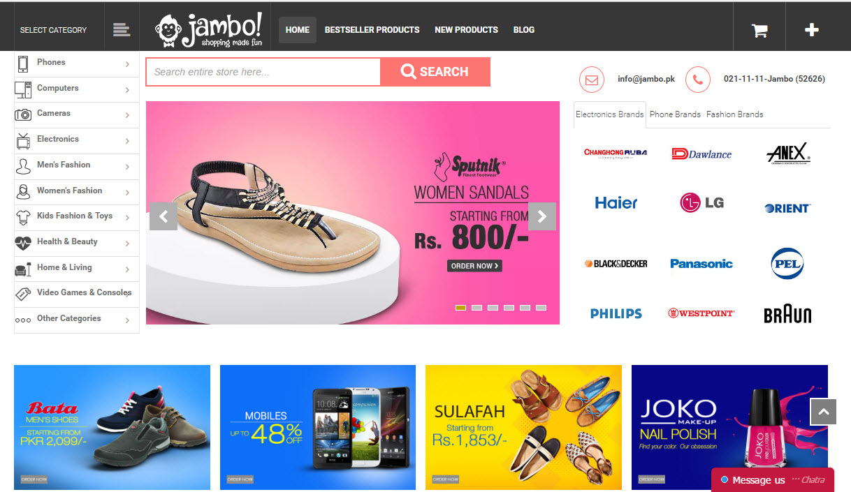 Top 10 most popular online shopping sites in pakistan 2016 for Best online sale sites
