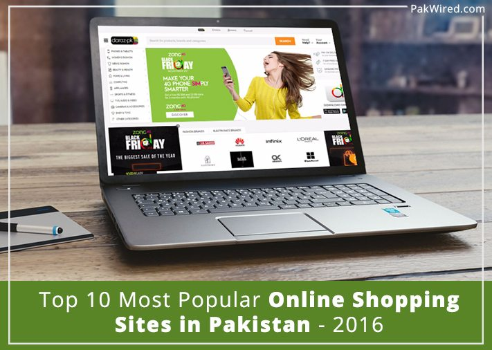 Most popular online shopping sites