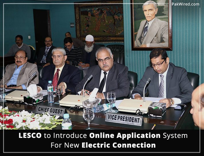 New Connection For Electricity Lesco