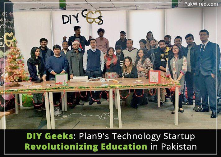 Diy geeks plan9s technology startup revolutionizing education in diy geeks plan9s technology startup revolutionizing education in pakistan solutioingenieria Images