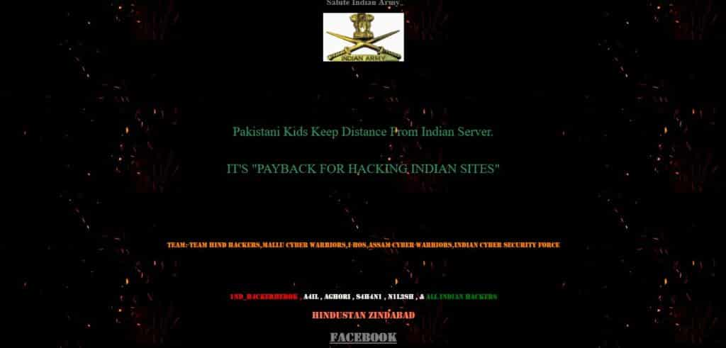 Lahore City District Government Website Recovers From The