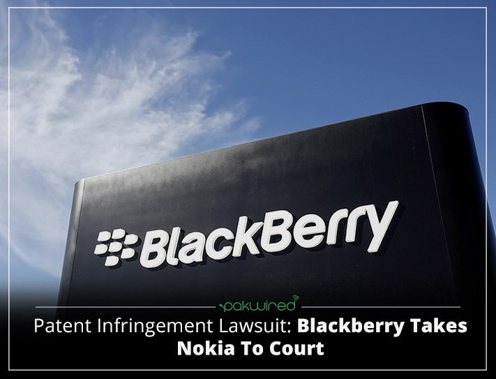 Blackberry hits Nokia with lawsuit over wireless patents