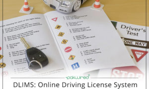 driving license delivery status lahore