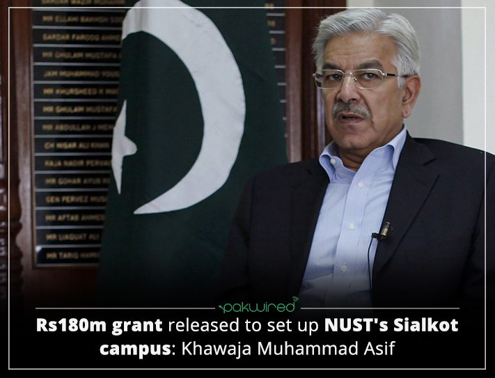Funds Worth PKR 180 Million Released For Setting Up NUST