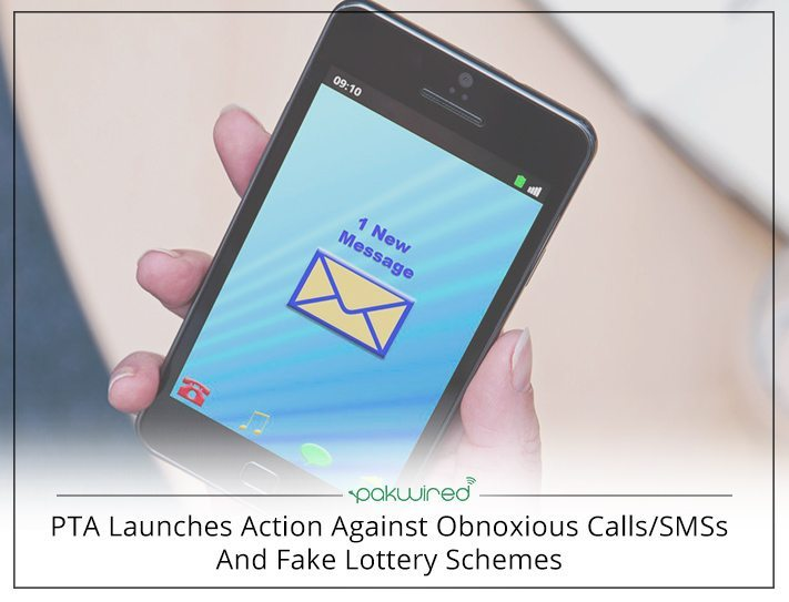 PTA Launches Action Against Obnoxious Calls/SMSs And Fake Lottery