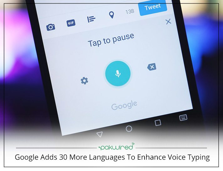Google's voice dictation tech now supports Armenian and 30 more languages