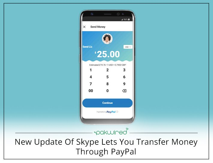 Here\'s How You Can Make Transactions And Send Money Via Skype