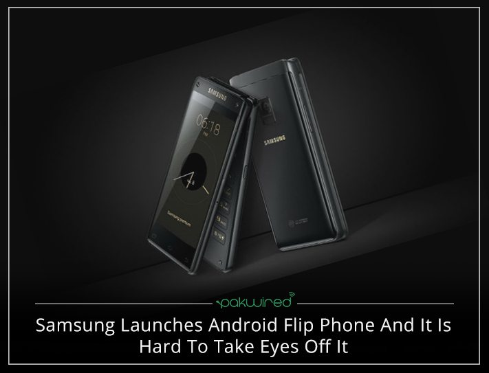 Samsung Launches Android Flip Phone And It Is Hard To Take Eyes Off It