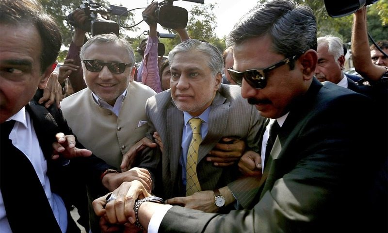 PPP leaders demand Ishaq Dar to step down