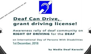 The Deaf Demand to be Heard - Join The MDK Rally On December 1