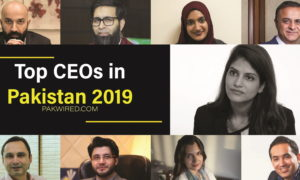 Top ceos in Pakistan 2019