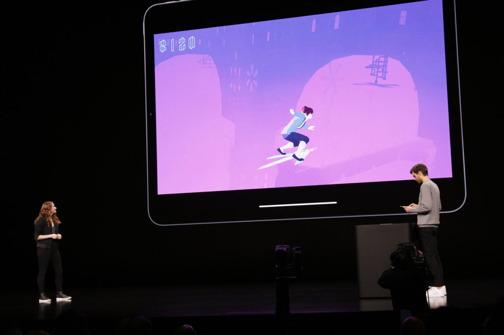 Apple exec introduces Apple Arcade