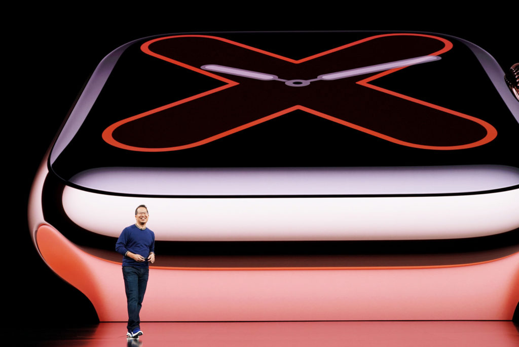Apple exec introducing new Apple Watch