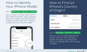 How to Identify Your iPhone Model And It's Country Of Origin