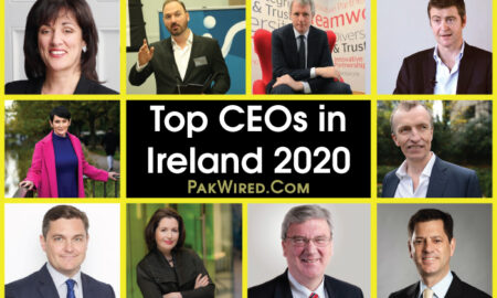Top CEOs in Ireland 2020
