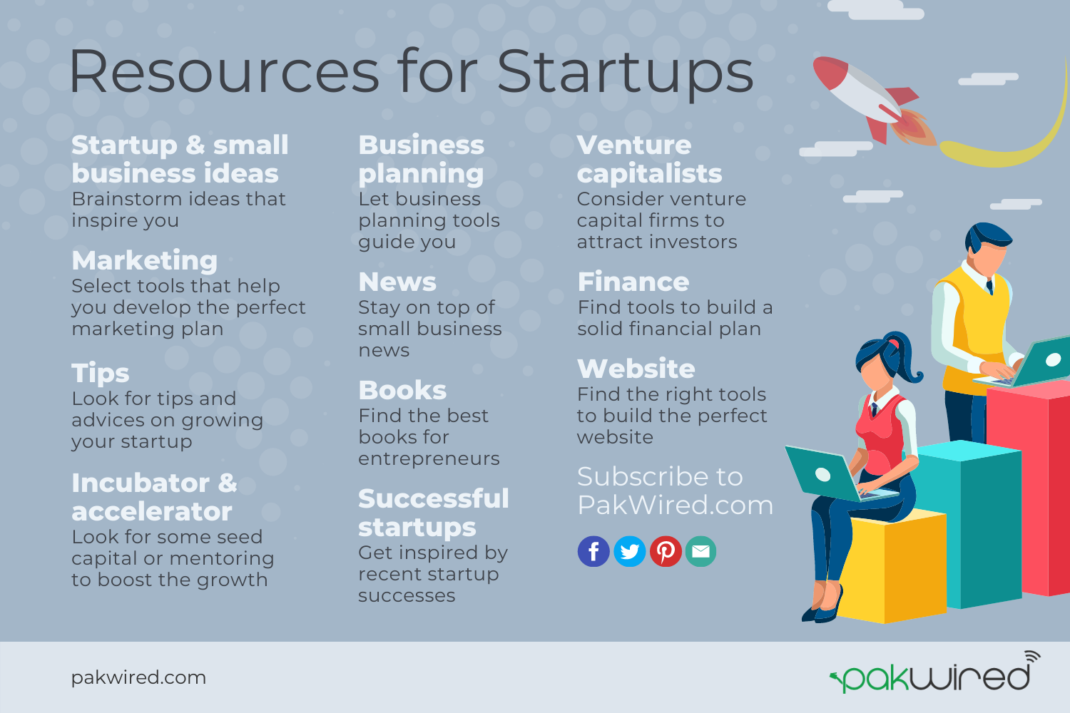 Resources for Startups